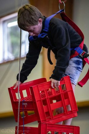 Crate-stacking